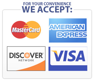 We Accept Credit Cards | Dr. J.D. Clark | Bozeman, MT